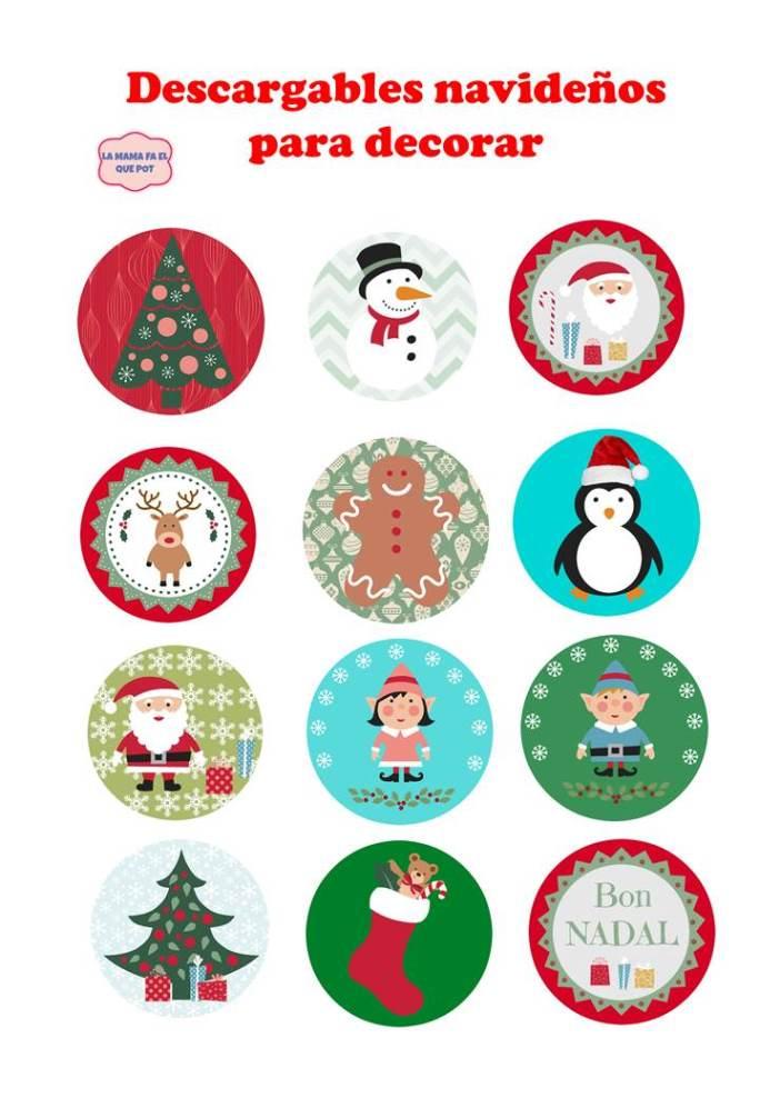 Freebies: Imprimibles de Navidad gratis - La mama fa el que pot